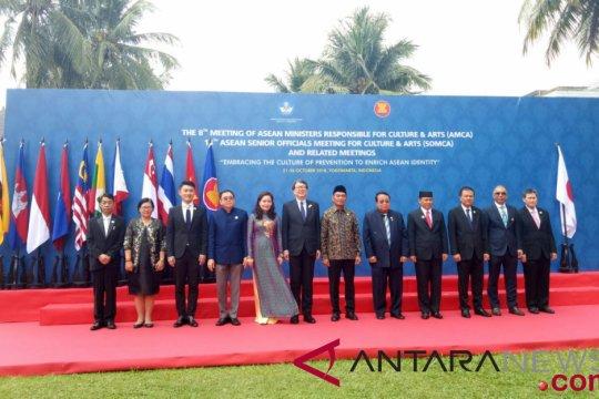 ASEAN dan tiga mitra sepakat tingkatkan kebudayaan