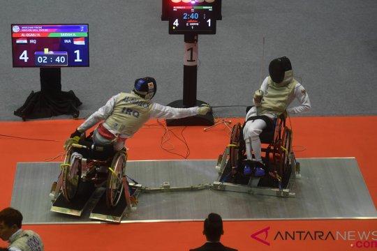 Asian Para Games - Kualifikasi Anggar Kursi Roda