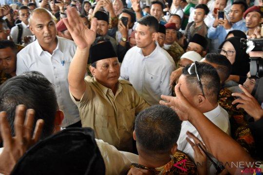 Spanduk Prabowo-Sandi tak terpasang di Kalteng