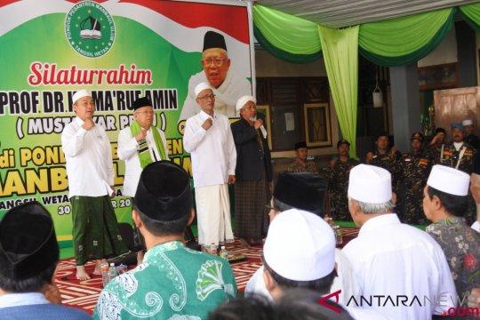 Maruf Amin Safari Di Pondok Pesantren