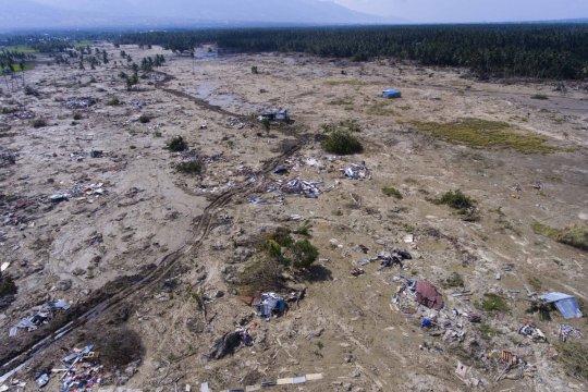 Pemerintah siapkan 320 hektare relokasi korban gempa