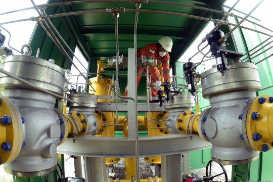 Distribusi Gas PLTG Tarahan