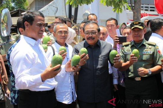 Mentan lepas ekspor tiga komoditas hortikultura