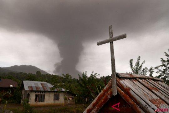 Minahasa Tenggara siaga antisipasi dampak erupsi Soputan