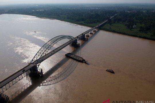 Evaluasi Jalur Kapal di Sungai Batanghari