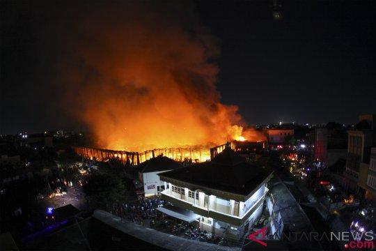 Kebakaran Pasar Induk Solo