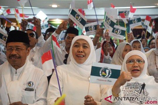 Khofifah arahkan anggota Muslimat pilih Jokowi