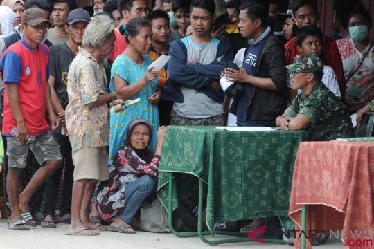 Pemkab Penajam kirim bantuan makanan dan pakaian