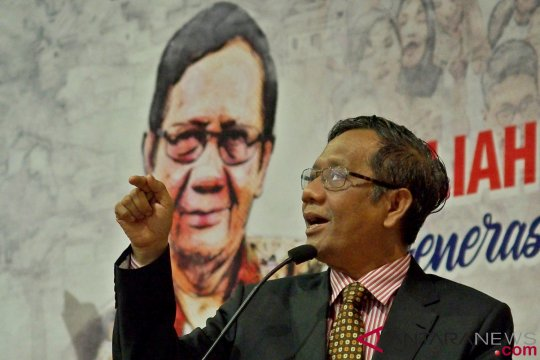 Mahfud ingatkan generasi milenial pimpin Indonesia 2045