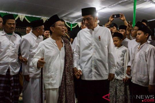 Presiden Joko Widodo Di Demak