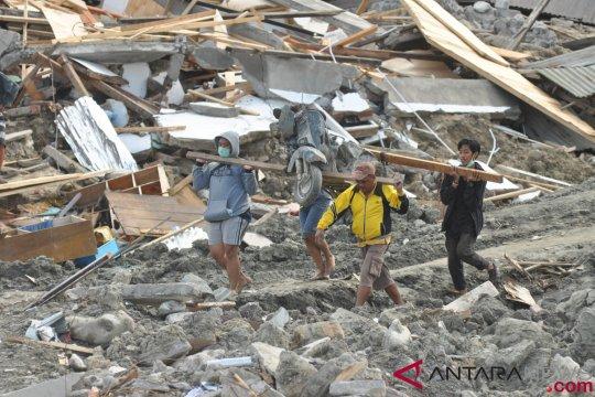 Pemerintah siapkan rencana induk rekonstruksi Palu