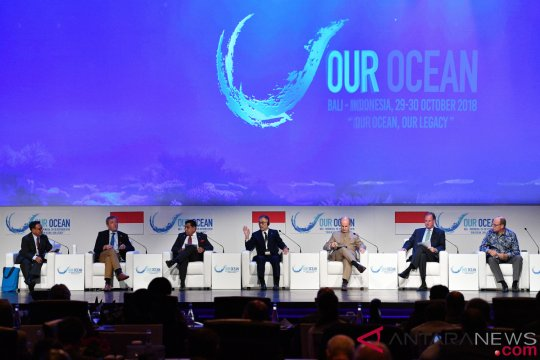 Sidang Plenary Our Ocean Conference 2018