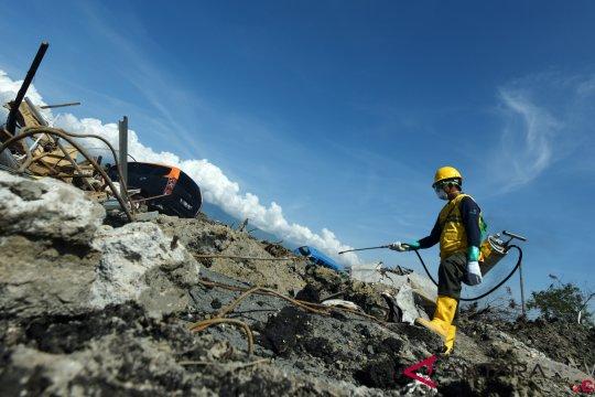 Badan Geologi siapkan rekomendasi teknis rekonstruksi Palu