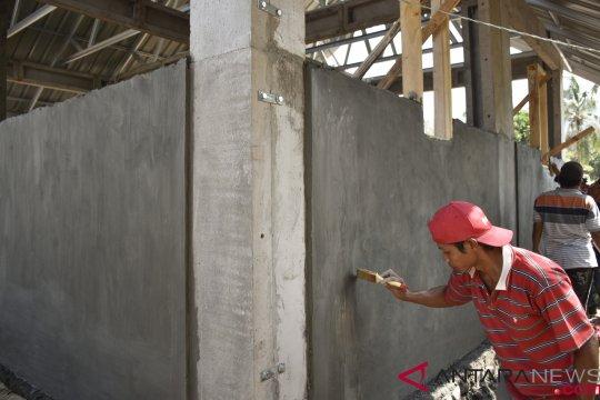 Belasan korban gempa di Mataram sudah bisa menempati hunian tetap
