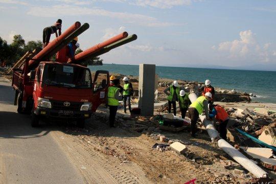 Pemulihan listrik Pasca Gempa