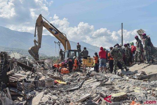 Butuh enam ekskavator untuk evakuasi korban likuifaksi