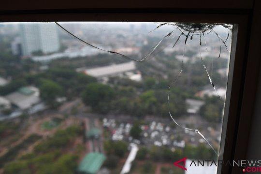 Polisi temukan lima proyektil dan enam lubang bekas tembakan di Gedung DPR