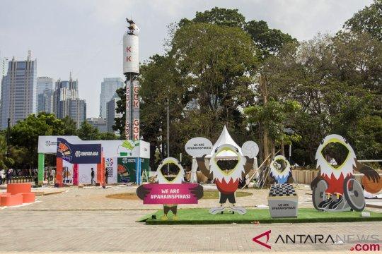 INAPGOC siapkan tiga zona festival di GBK