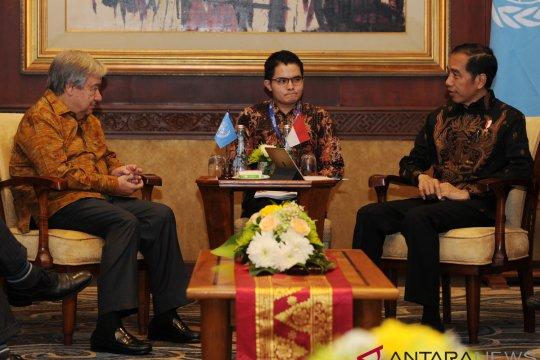 Jokowi dinilai kedepankan kekuatan moral
