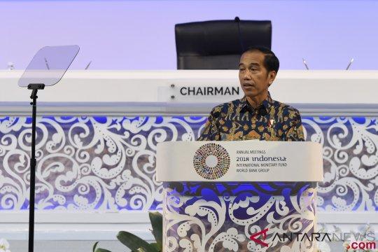 Pertumbuhan ekonomi positif di bawah pemerintahan Jokowi