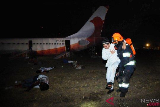 Simulasi Penanganan Kecelakaan Pesawat Terbang