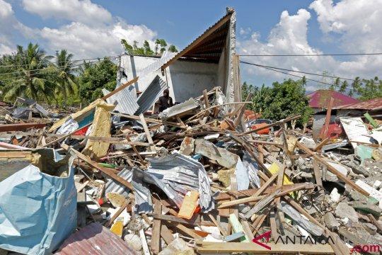 109 anak terdampak gempa Palu sekolah di Majene Sulbar