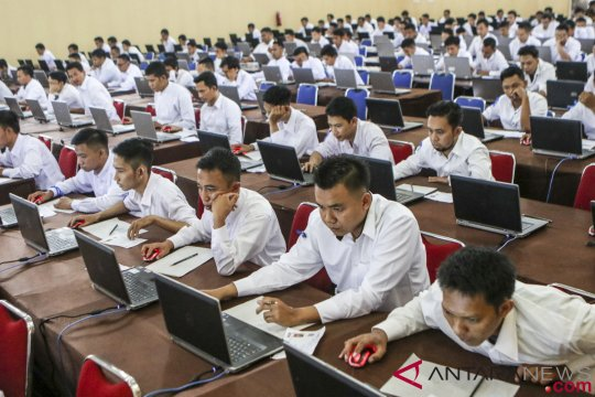 Jakarta Barat  memfasilitasi ribuan CPNS TES mengikuti seleksi