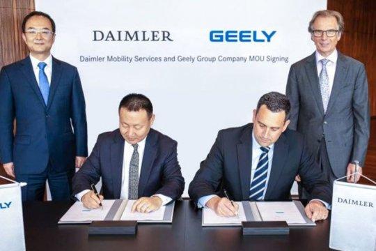 Geely bantah jual saham Daimler