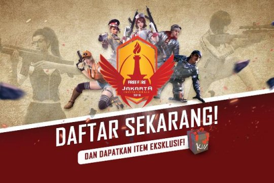 """Garena Indonesia gelar turnamen esports """"Free Fire"""""""