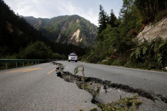 Korban tewas akibat gempa China jadi 11 orang