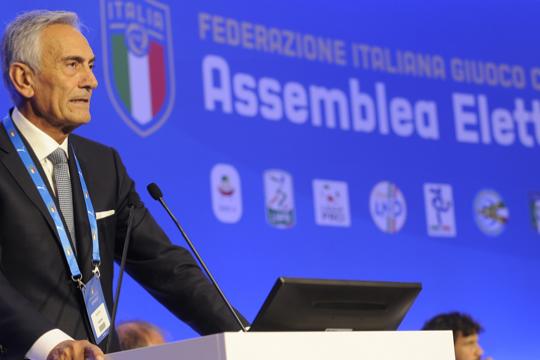 Gravina terpilih sebagai presiden baru FIGC