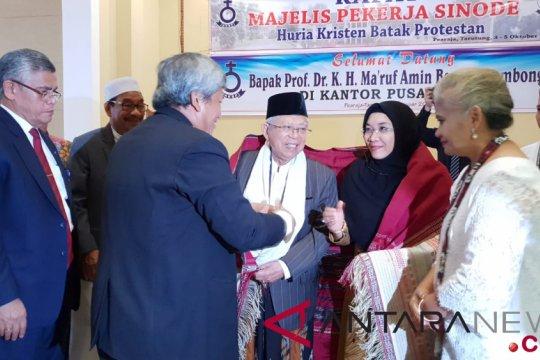Ma'ruf Amin didoakan jadi pemimpin nasional
