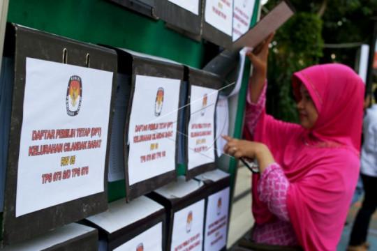 KPU catat jumlah pemilih di Jaksel bertambah jadi 1,7 juta