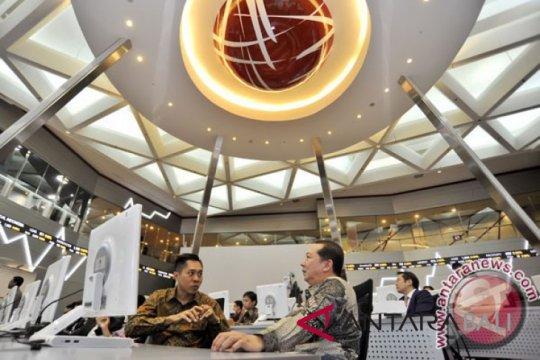 IHSG melemah, penurunan tertahan proyeksi IMF tentang ekonomi RI