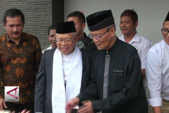 Ma'ruf Amin temui tokoh Muhammadiyah