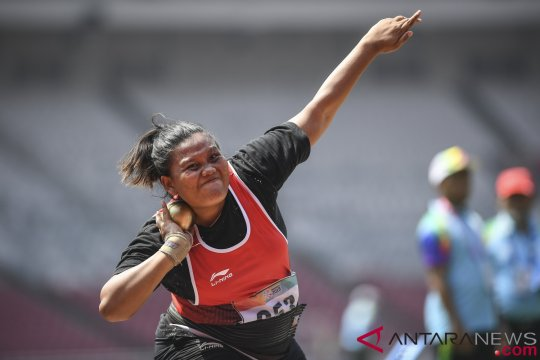 Emas Tolak Peluru Asian Para Games