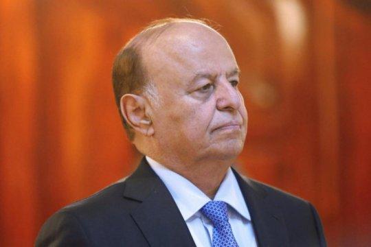 Presiden Yaman kembali ke Riyadh setelah berobat di AS