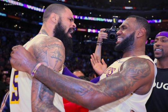 LeBron James cetak poin pamungkas, Lakers kalahkan Hawks 107-106
