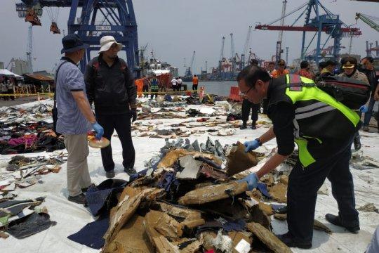 Polisi temukan tempat duduk Lion Air JT 610