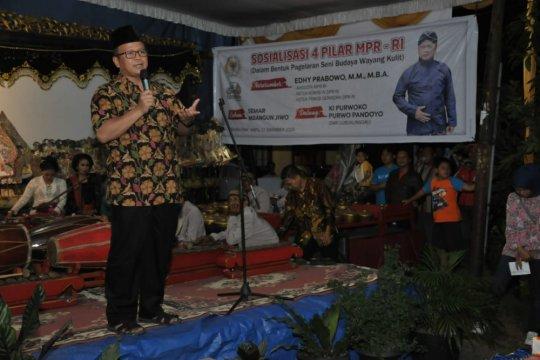 MPR gelar Wayang  Kulit untuk sosialisasi Empat Pilar di Sumsel