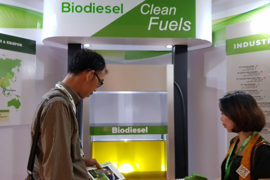 Pemerintah tetapkan harga biodiesel pada Februari Rp7.015/liter