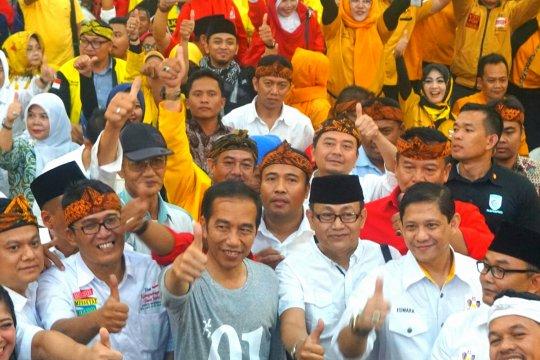 Jokowi temui caleg partai koalisi