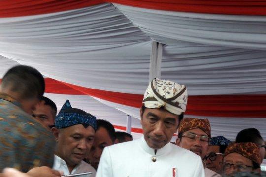 Jokowi ajak masyarakat hijrah dari ujaran kebencian