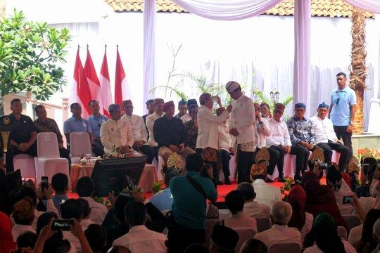 Jokowi terima anugerah sebagai Pinisepuh Paguyuban Pasundan