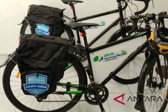 Ramah lingkungan, pelayanan BPJS Ketenagakerjaan Gambir gunakan sepeda