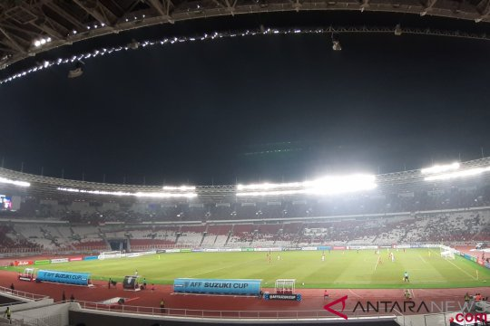 Indonesia-Filipina imbang 0-0 babak pertama