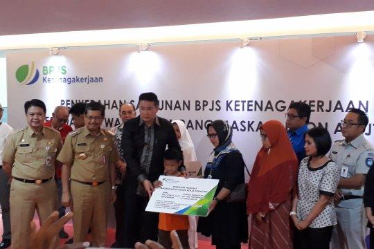 BPJS-TK serahkan santunan delapan korban Lion Air