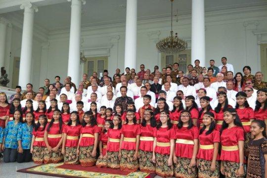 Presiden ibaratkan kehidupan berbangsa dengan harmoni paduan suara