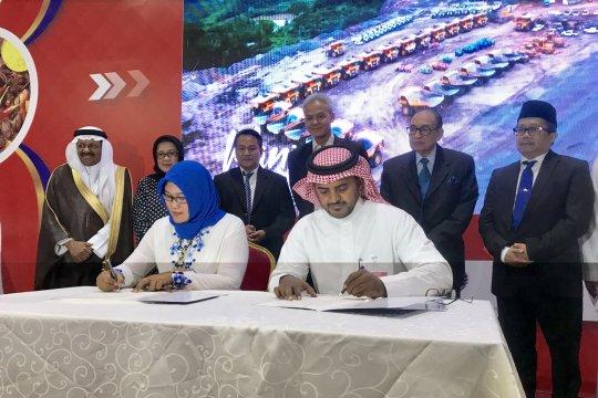 Tiga kemitraan bisnis Indonesia-Arab Saudi ditandatangani saat Indonesia Expo