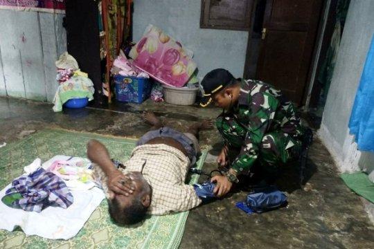 "Cegah malaria, Satgas Pamtas ""fogging"" Kampung Kibay-Keerom, Papua"